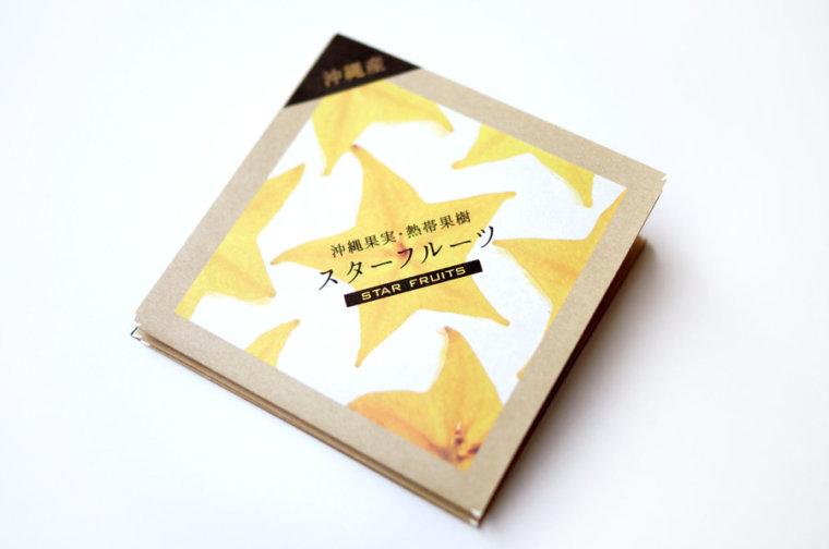 〈リーフレット〉沖縄県農林水産部 スターフルーツブランド『美ら星』(2016.1)