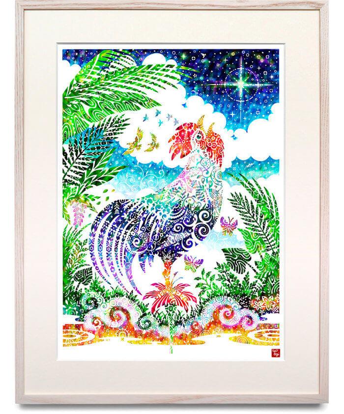 酉の刻 / Rooster of dawn