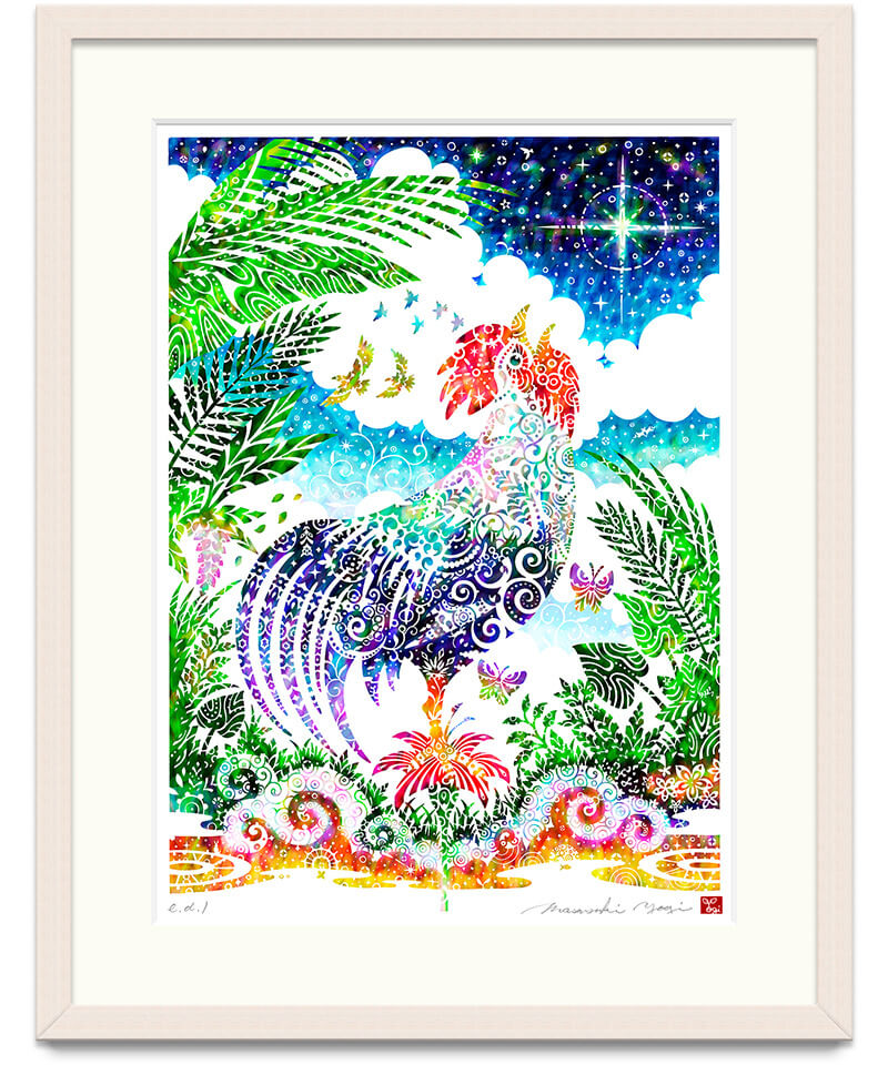 酉の刻 / Rooster of dawn