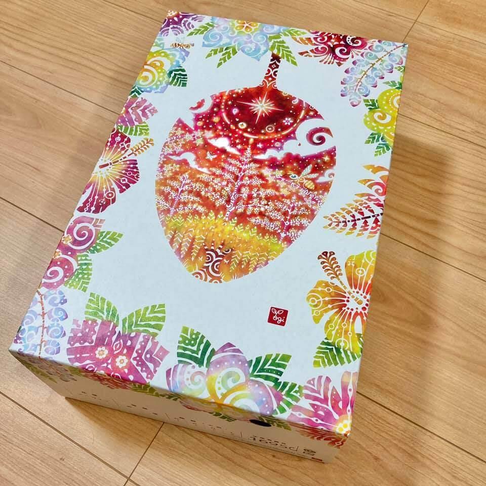 〈パッケージ〉ゆいぐくるマンゴー専用箱